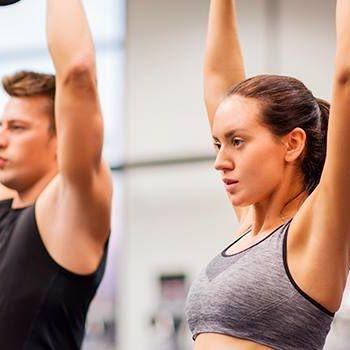 Tänään HIIT oman kehon painolla ja lopuksi rentouttavat venyttelyt. Nähdään klo 17