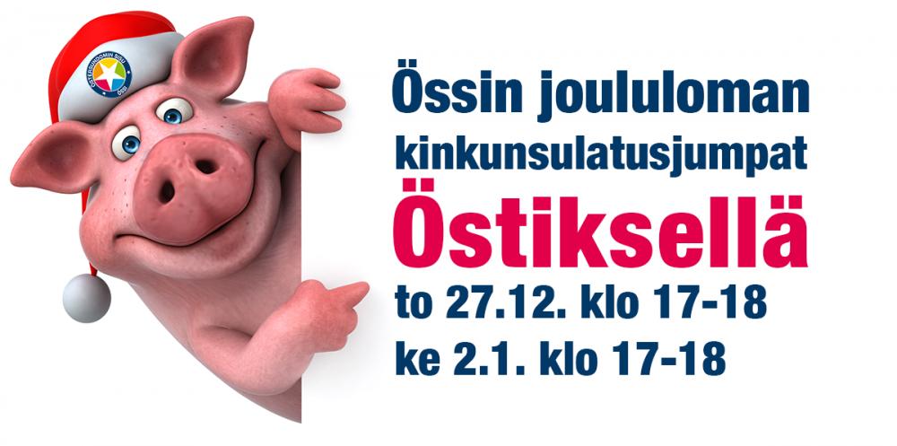 """Joululomalla on kaksi Carita Lintusen ohjaamaa """"kinkunsulatusjumppaa"""" Leirikeskus Östiksellä (Nuorisotalo, osoite: Knutersintie 915, 00890…"""
