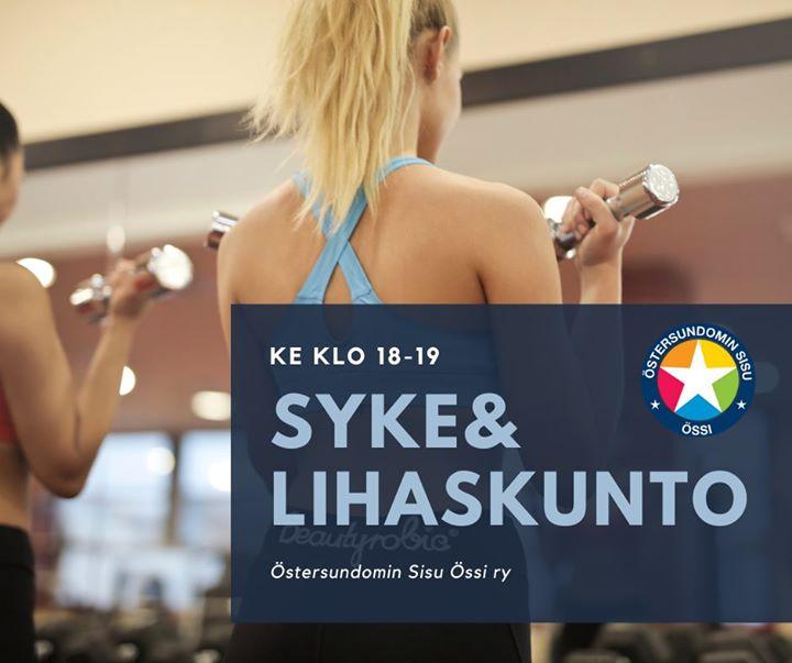 Tänään Sakarinmäen koululla klo 18-19 Anna Takalan syke&lihaskuntotunnilla Yhden puntin pumppijumppa! Tervetuloa! Lisätiedot ja…