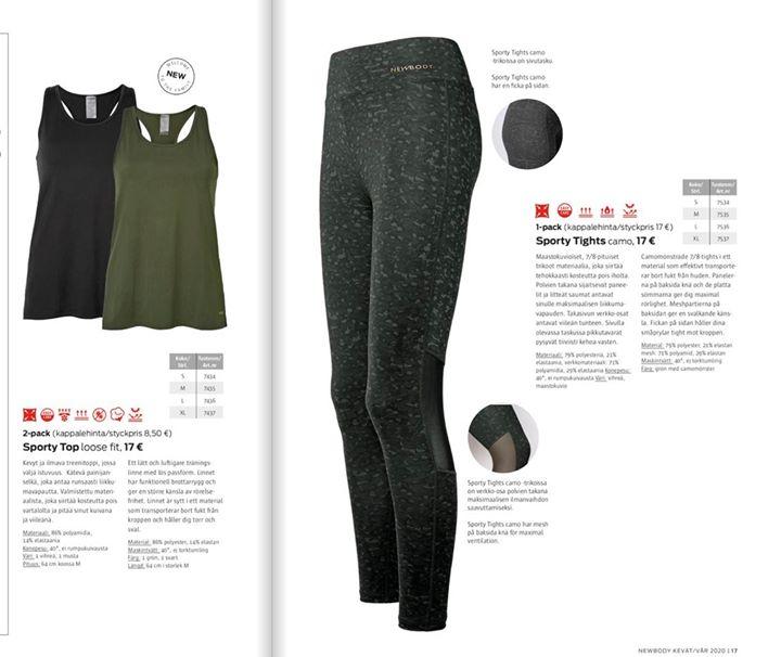 NewBody tuotteet saapuneet️🧦🧘️ Tilatut NewBody-vaatteet ovat saapuneet. Tuotteet ovat noudettavissa koululta tiistaista lähtien, myöhemmin…
