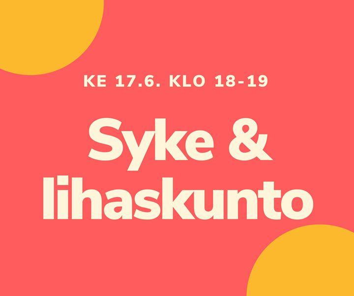 Keskiviikkona klo 18-19 tämän kauden vika syke&lihaskuntotreeni Sakarinmäen koulun pihalla. Illaksi mahdollisten sateiden pitäisi…
