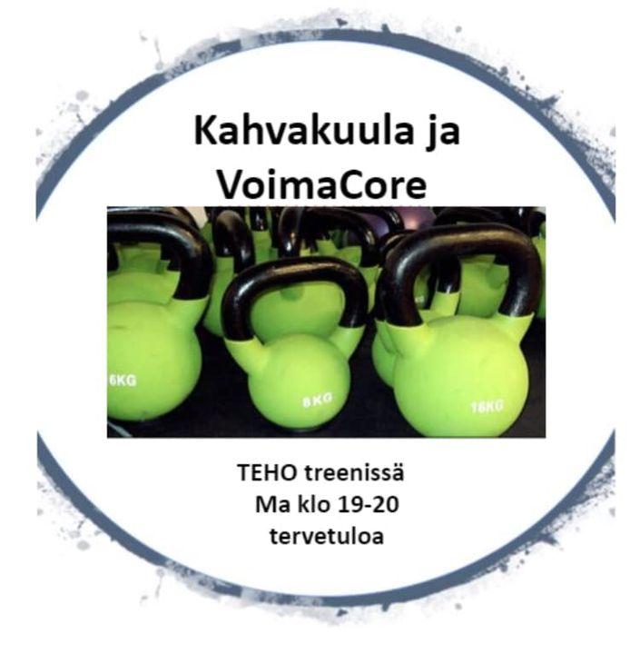 JES! Maanantai ja Teho Treeni Jatketaan kahvakuula ja VoimaCore treenillä: KOKO vartalon kahvakuula treeni,…