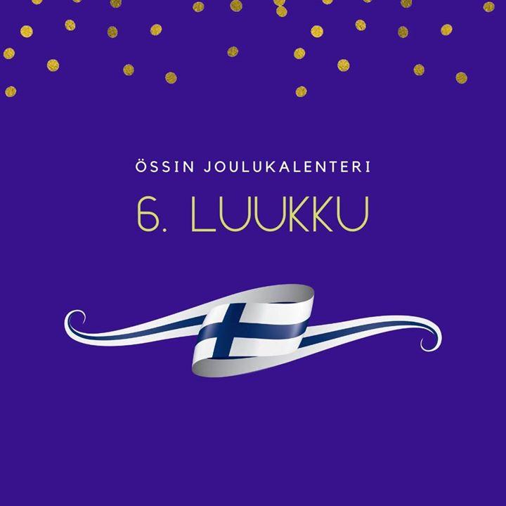 Össin joulukalenteri 6. luukku Hyvää itsenäisyyspäivää! Mikä olisikaan sen suomalaisempaa, kuin metsä! Metsän parantavasta…