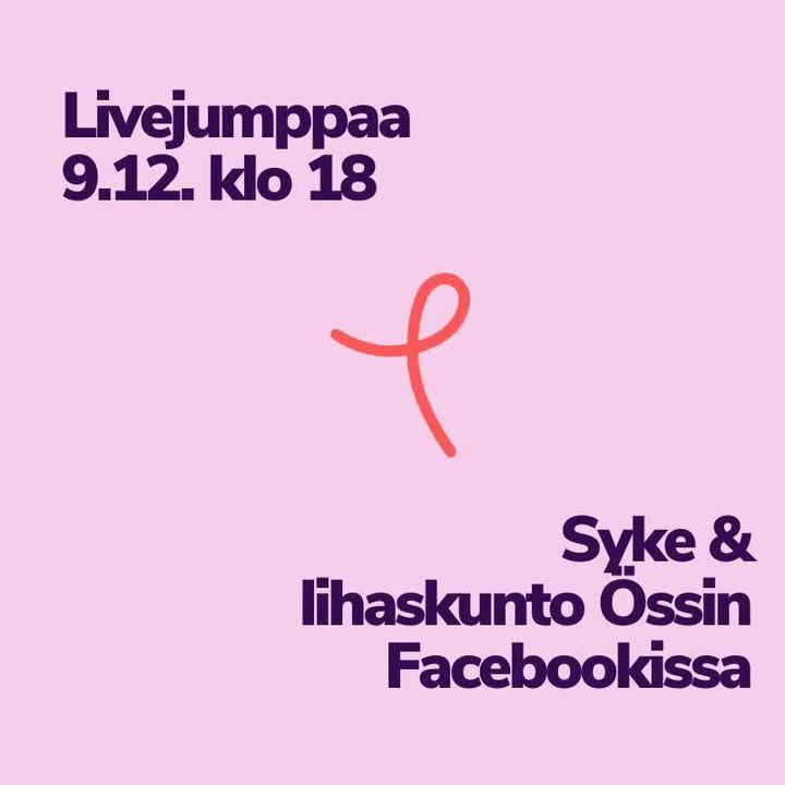 Tervetuloa Össin Facebookissa näkyvään Syke & lihaskunto -treeniin keskiviikkona klo 18 – 19. Tarvitset…