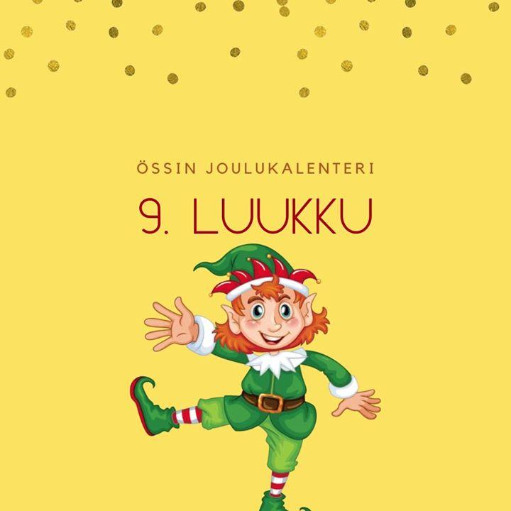Össin joulukalenteri 9. luukku Tontulla tanssijalkaa vipattaa etäkokoukset kropan puuduttaa. Laittaa biisin uuden soimaan…