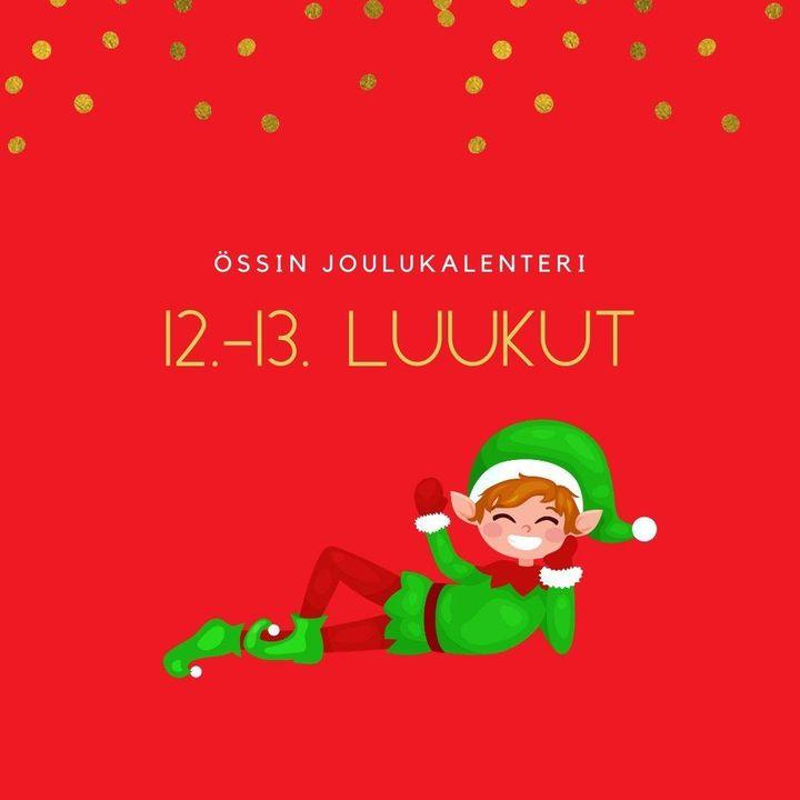 Össin joulukalenteri luukku Valoisaa Lucian päivää! Trevlig Lucia! Viikonlopun jumppavinkki tämän tutun laulun tahtiin…