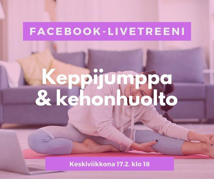 Tänään ilmainen kehonhuoltojumppa facebook livenä klo , tule kanavalle. Näkyy myös Össin nettisivuilla myöhemmin…